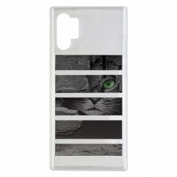 Чехол для Samsung Note 10 Plus All seeing cat