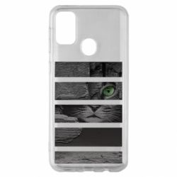 Чехол для Samsung M30s All seeing cat