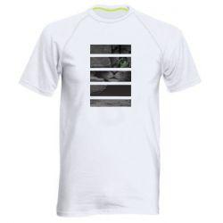 Мужская спортивная футболка All seeing cat