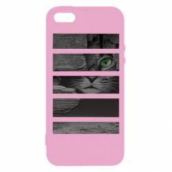 Чехол для iPhone5/5S/SE All seeing cat