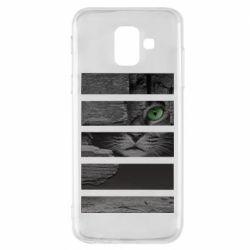 Чехол для Samsung A6 2018 All seeing cat