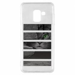 Чехол для Samsung A8 2018 All seeing cat