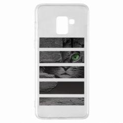 Чехол для Samsung A8+ 2018 All seeing cat