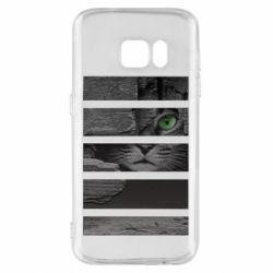 Чехол для Samsung S7 All seeing cat