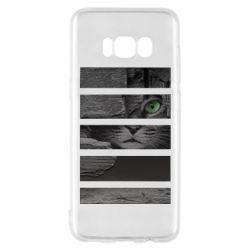 Чехол для Samsung S8 All seeing cat