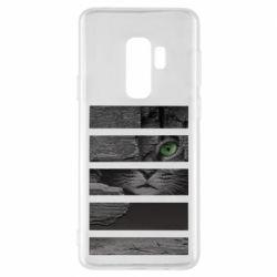Чехол для Samsung S9+ All seeing cat