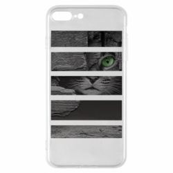 Чехол для iPhone 8 Plus All seeing cat