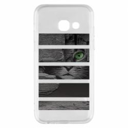 Чехол для Samsung A3 2017 All seeing cat