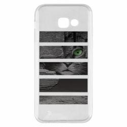 Чехол для Samsung A5 2017 All seeing cat