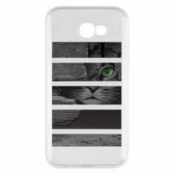 Чехол для Samsung A7 2017 All seeing cat