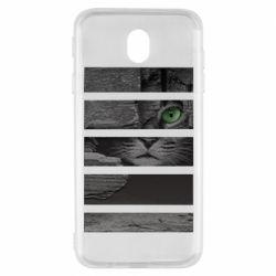 Чехол для Samsung J7 2017 All seeing cat