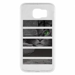 Чехол для Samsung S6 All seeing cat