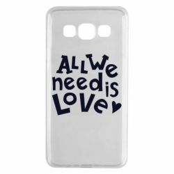 Чехол для Samsung A3 2015 All we need is love
