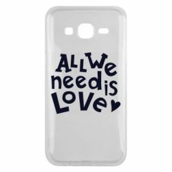 Чехол для Samsung J5 2015 All we need is love
