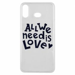Чехол для Samsung A6s All we need is love