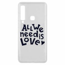 Чехол для Samsung A9 2018 All we need is love