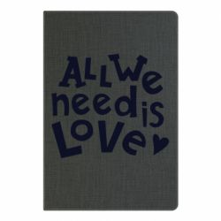 Блокнот А5 All we need is love