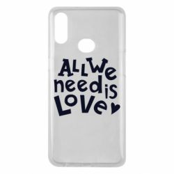 Чехол для Samsung A10s All we need is love