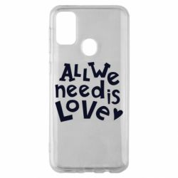 Чехол для Samsung M30s All we need is love