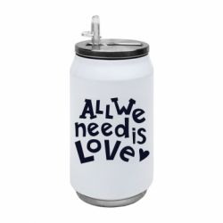 Термобанка 350ml All we need is love
