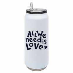 Термобанка 500ml All we need is love