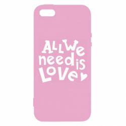 Чехол для iPhone5/5S/SE All we need is love