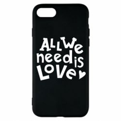 Чехол для iPhone 8 All we need is love