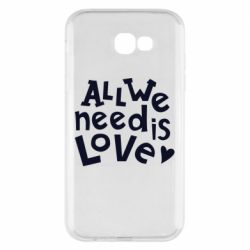 Чехол для Samsung A7 2017 All we need is love