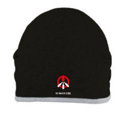 Шапка All you need is love (Коктейль Молотова) - FatLine