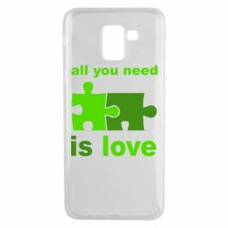 Чохол для Samsung J6 All You need is love