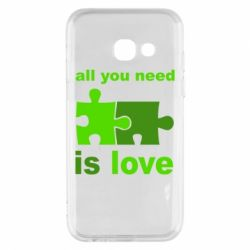 Чохол для Samsung A3 2017 All You need is love