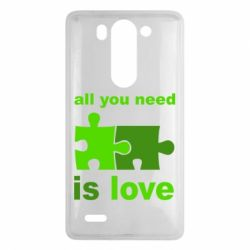 Чехол для LG G3 mini/G3s All you need is love - FatLine