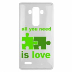 Чехол для LG G4 All you need is love - FatLine
