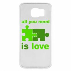 Чехол для Samsung S6 All you need is love - FatLine