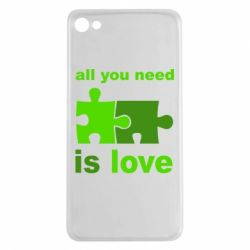 Чехол для Meizu U20 All you need is love - FatLine