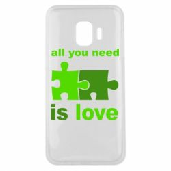 Чохол для Samsung J2 Core All You need is love