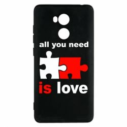 Чехол для Xiaomi Redmi 4 Pro/Prime All you need is love - FatLine