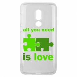 Чехол для Meizu V8 All you need is love - FatLine