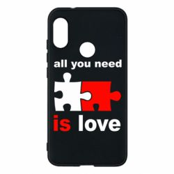 Чехол для Mi A2 Lite All you need is love - FatLine