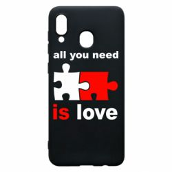 Чохол для Samsung A20 All You need is love
