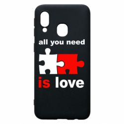 Чохол для Samsung A40 All You need is love
