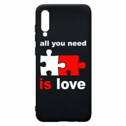 Чохол для Samsung A70 All You need is love
