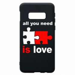 Чохол для Samsung S10e All You need is love