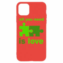 Чохол для iPhone 11 All You need is love