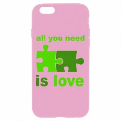 Чехол для iPhone 6 Plus/6S Plus All you need is love - FatLine