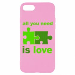 Чехол для iPhone 7 All you need is love - FatLine