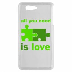 Чехол для Sony Xperia Z3 mini All you need is love - FatLine