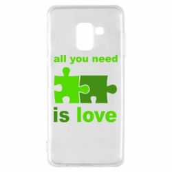 Чохол для Samsung A8 2018 All You need is love