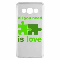 Чехол для Samsung A3 2015 All you need is love - FatLine