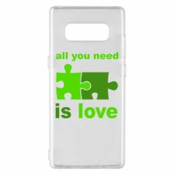 Чохол для Samsung Note 8 All You need is love